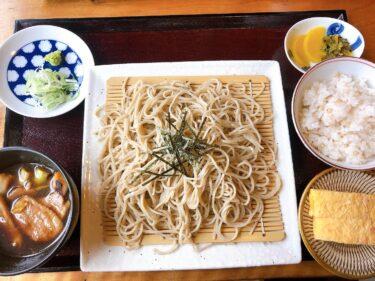 【蕎麦Cafe蕎屋~kyouya~】牧にあるスイーツもおいしいお蕎麦屋